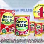 Sữa nutifood grow plus đỏ tăng cân hiệu quả cho trẻ suy dinh dưỡng