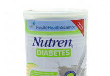 Sữa Nutren Diabetes nhập khẩu từ thụy sỹ