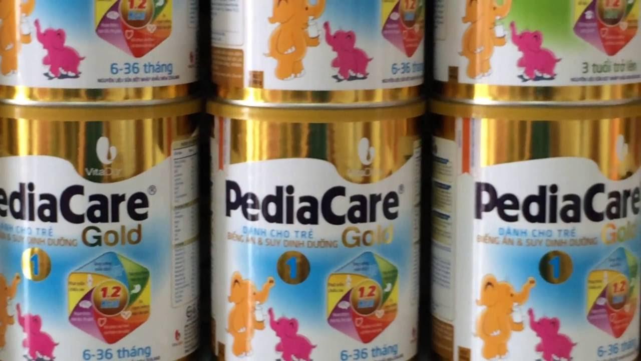 sữa pediacare gold dinh dưỡng cho bé phát triển toàn diện