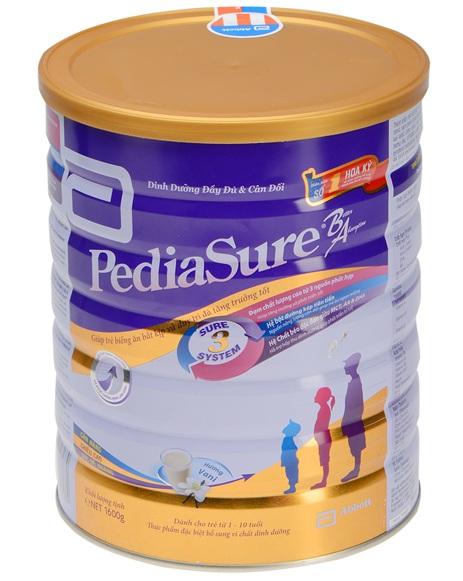Sữa Pediasure cho trẻ biếng ăn, thiếu hụt chất dinh dưỡng