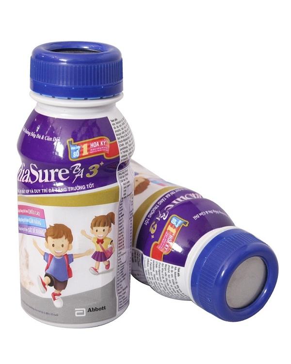 sữa pediasure nước của hãng 3a dành cho thị trường việt nam