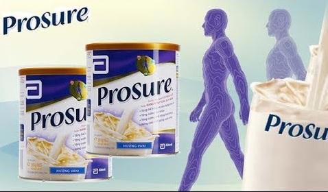 Sữa Prosure 380g sản phẩm dinh dưỡng của hãng Abbott dành cho người ung thư