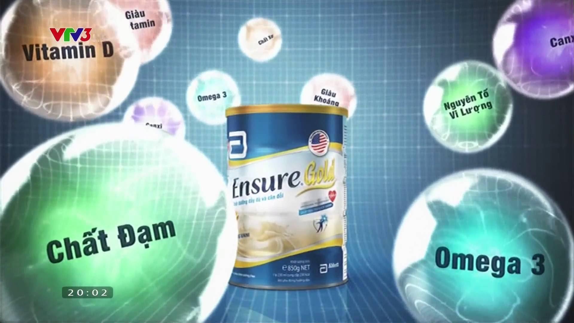 Hệ dưỡng chất tối ưu của Sữa Ensure