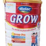 sữa dielac grow 2+ 900g của vinamilk hỗ trợ phát triển chiều cao cho bé 2-10 tuổi