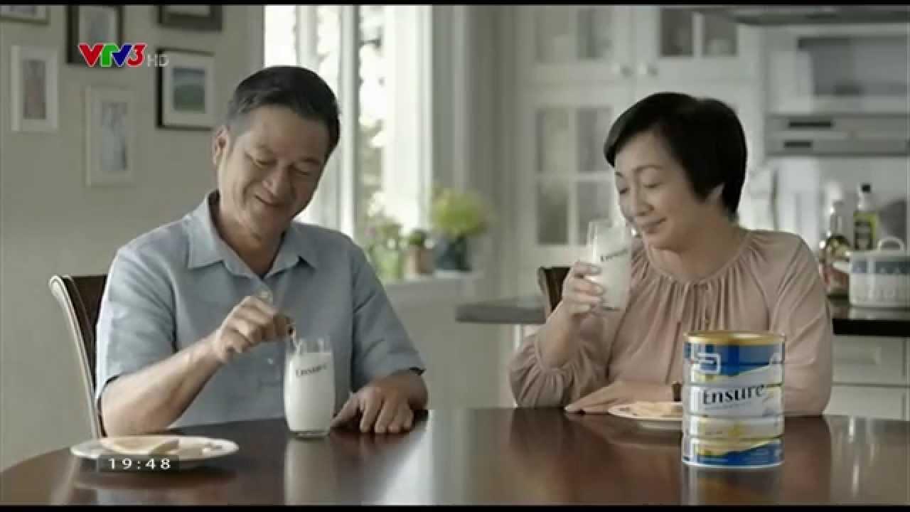 Sữa Ensure dành cho người già bổ sung sức khỏe