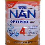 Sữa Nan Kid 4 dinh dưỡng hoàn hảo cho trẻ 2-6 tuổi của Hãng Nestle danh tiếng
