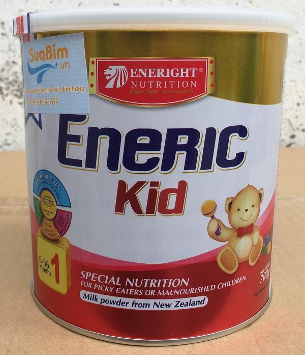 Sữa Eneric Kid dinh dưỡng cho trẻ chậm lớn biếng ăn nhanh tăng cân