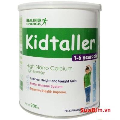 Sữa Kidtaller dinh dưỡng giúp bé tăng chiều cao vượt trội