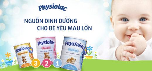 Sữa Physiolac số 2 là nguồn dinh dưỡng cho bé yêu mau lớn