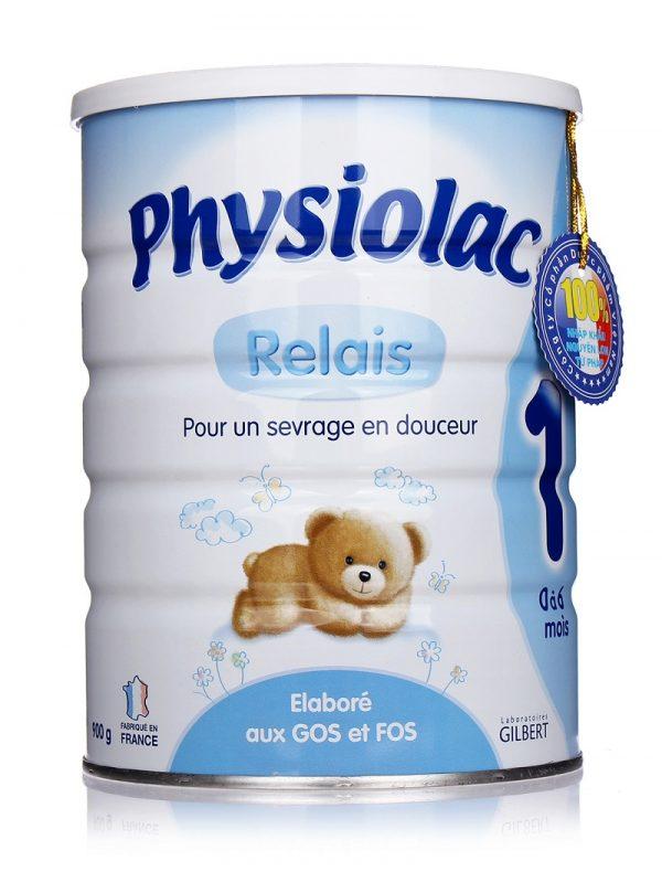sữa physiolac số 1 900g nhập khẩu nguyên lon từ pháp