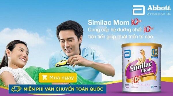 Sữa Similac mom dinh dưỡng giúp thai nhi phát triển trí não vượt trội