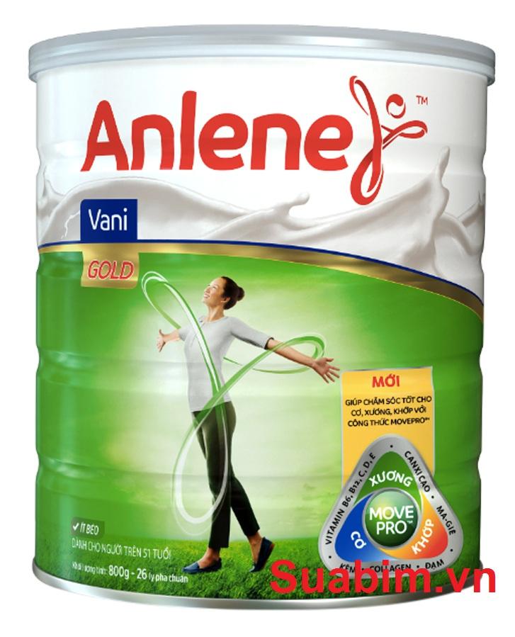 Sữa Anlene cho bạn hệ xương chắc khỏe
