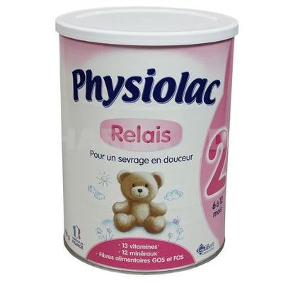 Sữa Physiolac số 2 dành cho trẻ từ 6-12 tháng