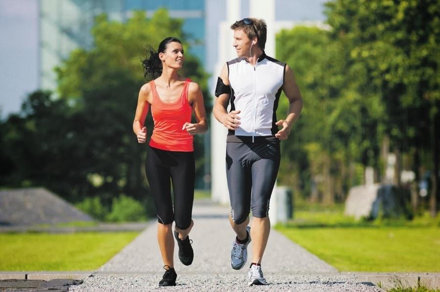 Vận động thể dục thể thao ở nam giới giúp giảm bớt thừa cân