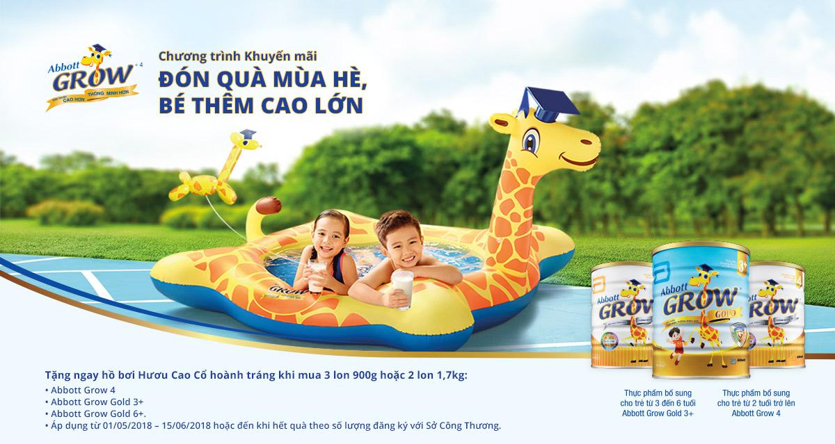 Quà khuyến mại khi mua Sữa Abbott Grow 4