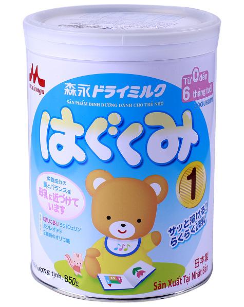 Sữa morinaga số 1 đặc biệt phù hợp với trẻ sơ sinh, dễ hấp thu, tăng sức đề kháng