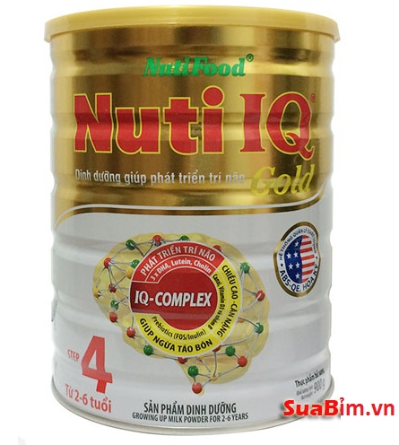 Sữa Nuti IQ Gold step 4