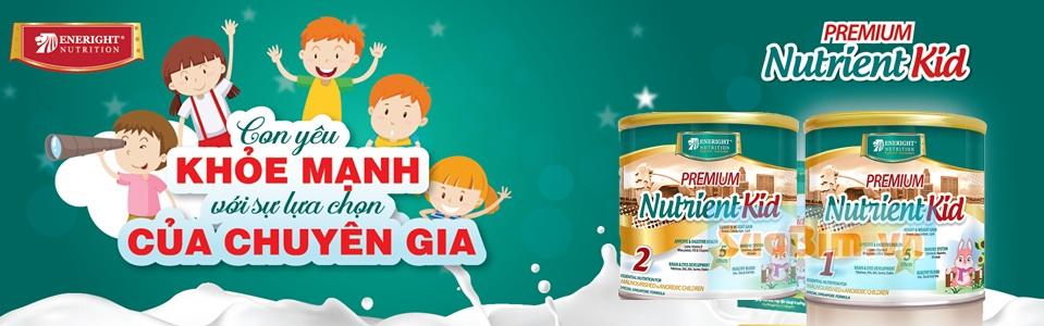Sữa Nutrient Kid cho bé yêu khỏe mạnh