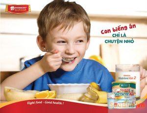 Sữa Nutrient Kid dành cho trẻ biếng ăn suy dinh dưỡng