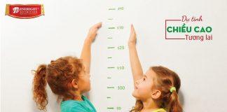 Sữa Nutrient Kid giúp bé phát triển chiều cao tối đa