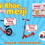 Mua Sữa Meiji Nhập khẩu nhận phần quà hấp dẫn