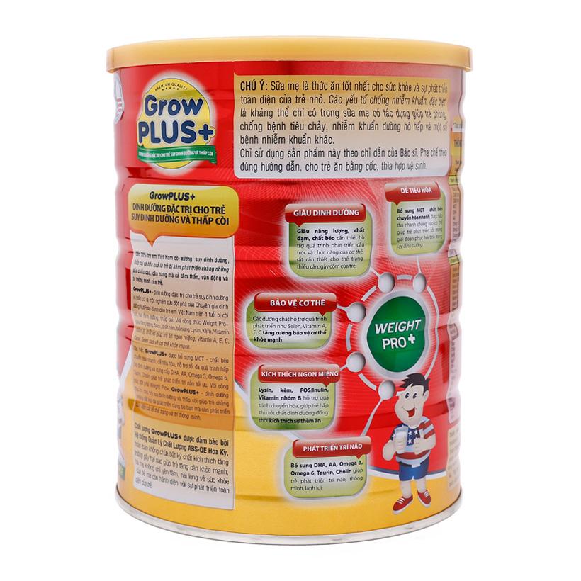 sữa Grow Plus+ đỏ từ công thức Weight Pro 5+