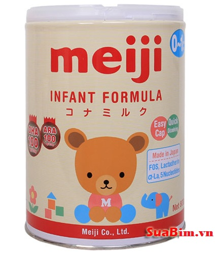 Sữa Meiji số 0 hàng nhập khẩu