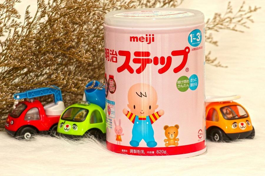 Sữa Meiji nội địa số 9 hàng dành cho thị trường nhật