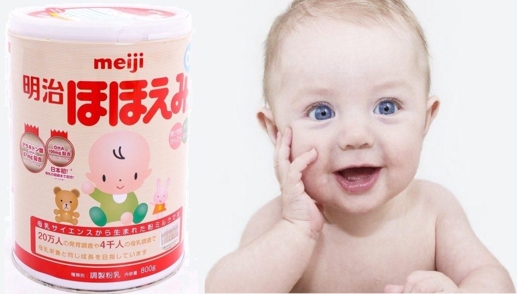 Sữa Meiji số 0 có tốt không