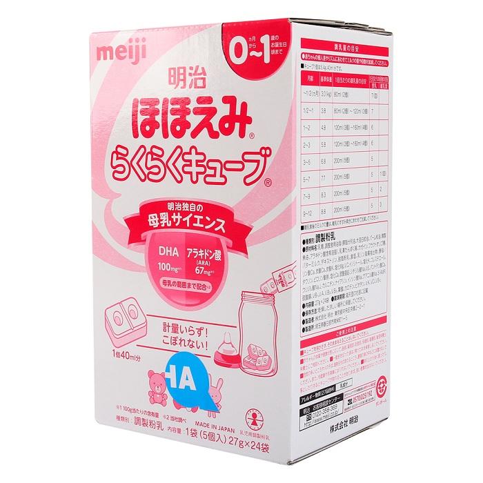 Sữa Meiji số 0 dạng thanh