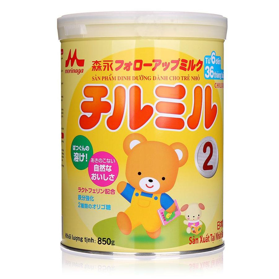 Sữa Morinaga số 2 nhập khẩu
