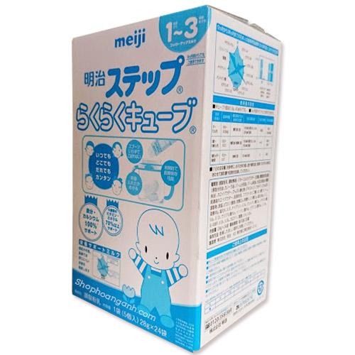 Sữa Meiji dạng thanh 1-3 tuổi