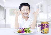 Sữa Pedia Plus Gold giúp bé tăng cân tăng chiều cao