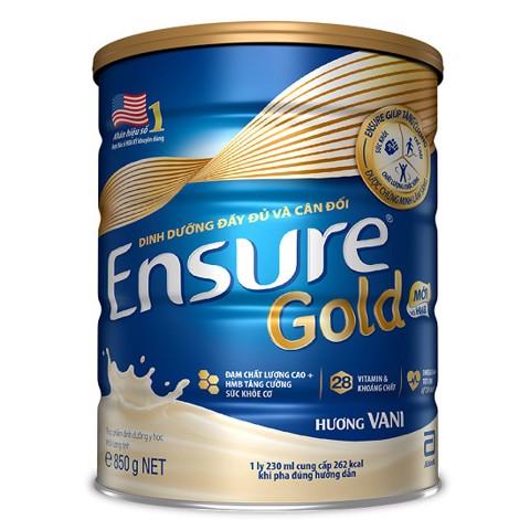 Sữa Ensure Gold 850g MỚI