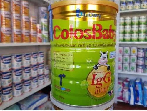 Sữa colosbaby 1+ cho trẻ trên 1 tuổi