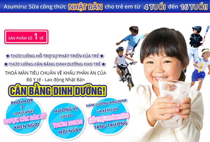 Thành phần dinh dưỡng Sữa Asumiru