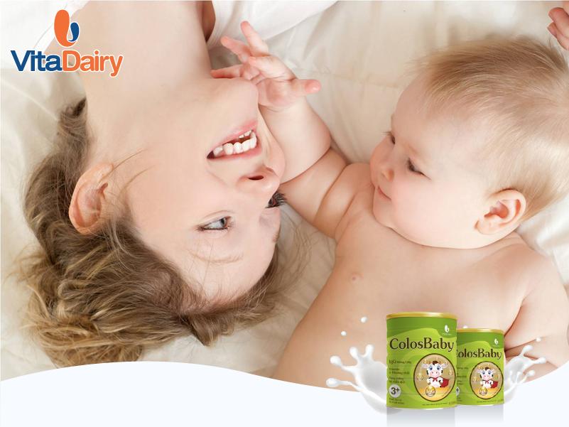 sữa colosbaby dinh dưỡng tuyệt vời từ sữa non