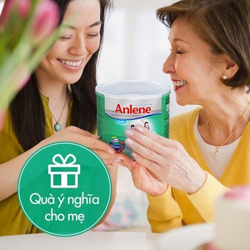 Sữa Anlene  - bí quyết chăm sóc mẹ