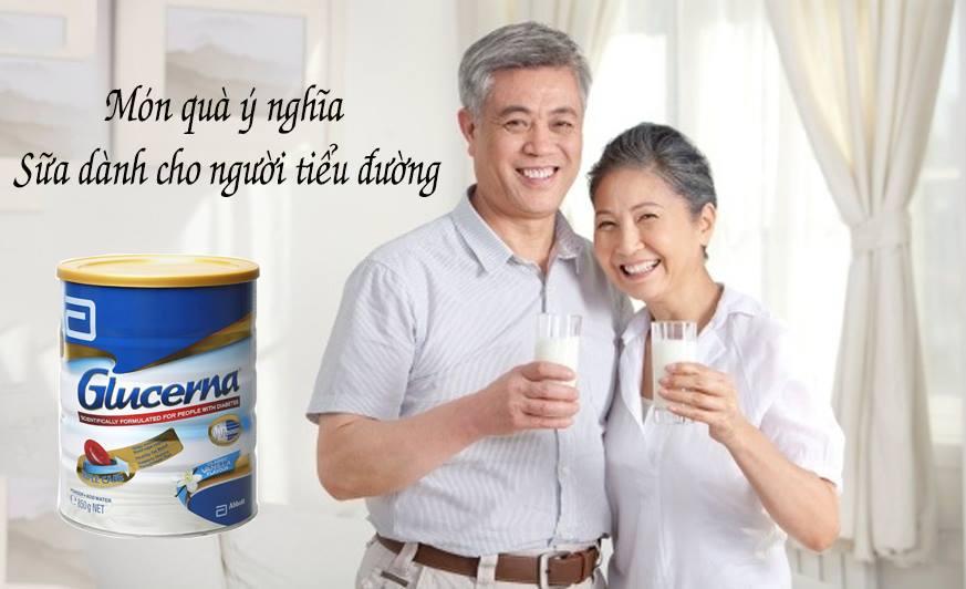 Sữa Glucerna Úc món quà sức khỏe cho người tiểu đường
