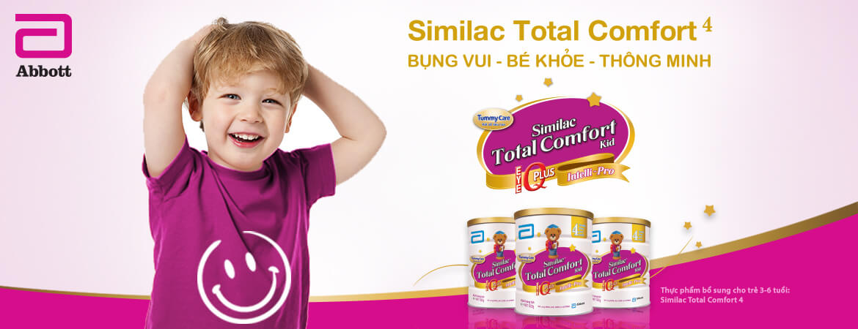 Sữa Similac Total comfort cho bé khỏe mạnh