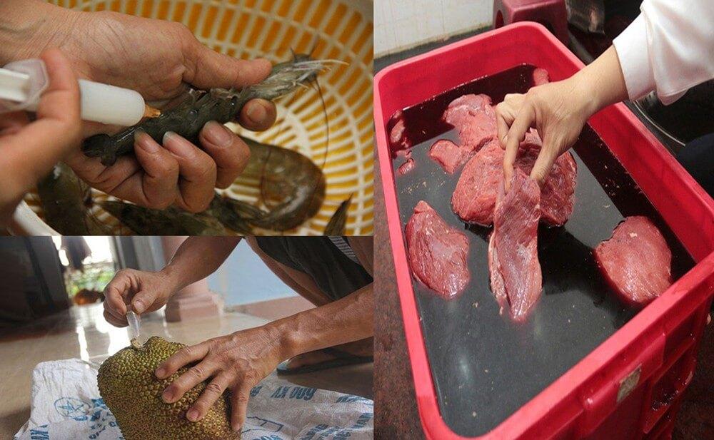 Thực phẩm bẩn cùng chất kích thích ảnh hưởng nhiều đến chất lượng cuộc sống