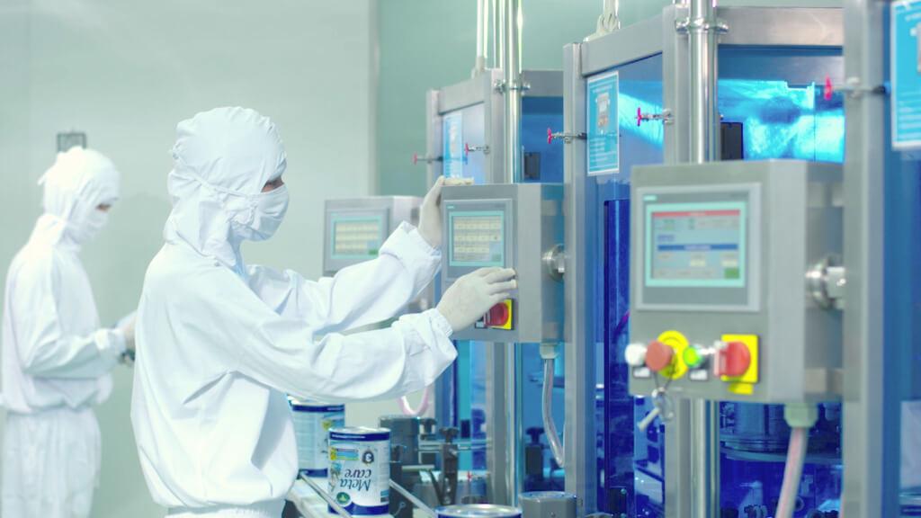 Nhà máy sản xuất của nutricare