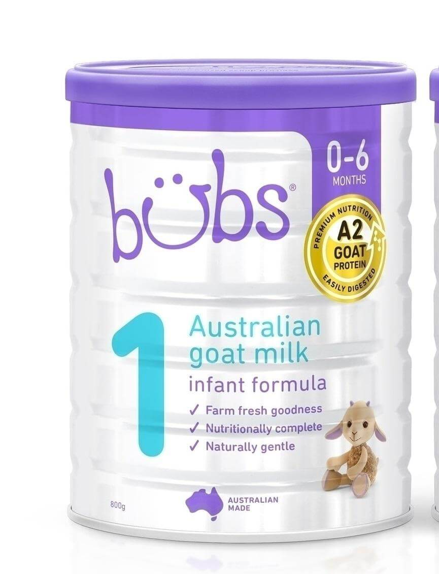 Sữa dê bubs số 1 cho bé 0-6 tháng tuổi