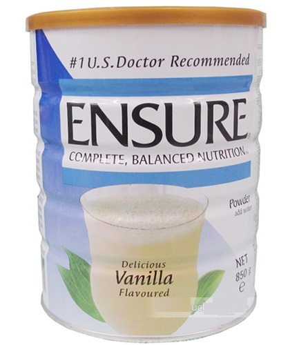 Sữa Ensure singapore 850g