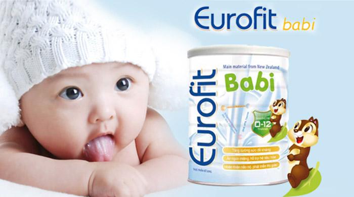 Sữa eurofit babi dinh dưỡng cho trẻ biếng ăn