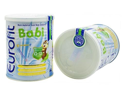 Sữa Eurofit babi cho bé sơ sinh tăng cân nhanh
