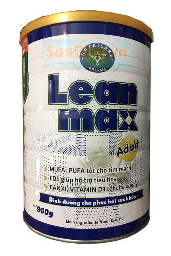 Sữa lean max adult 900g