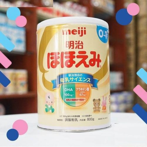 Sữa meiji số 0 nội địa nhật bản