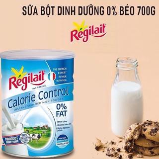 Sữa Regilait Calorie Control với 0% chất béo