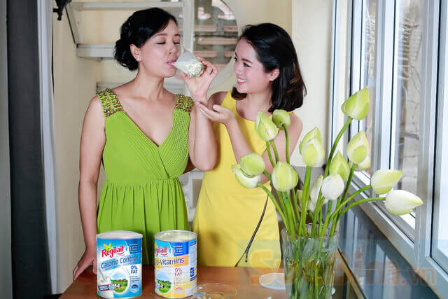 Sữa Regilait Calorie Control giúp bạn giữ vóc dáng